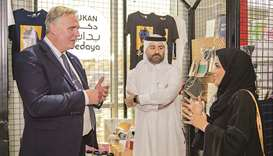 Dukan at the University of Aberdeen in Doha is a platform for SMEs to promote products related to th