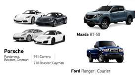 Mazda, Porsche and Ford models recalled