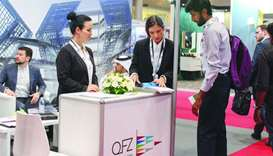 QFZA's booth at the event