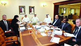 National Traffic Safety Committee officials and QP representatives at the meeting.