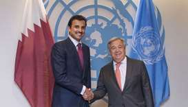 Amir meets UN chief