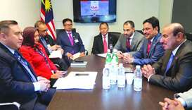 Minister holds bilateral meetings on sidelines of ICAO General Assembly