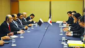 Qatar-Japan energy talks