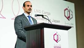 Al-Kaabi discusses energy, LNG co-operation in Japan