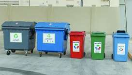 Containers for waste sorting