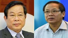 Two Vietnam former ministers face death penalty over bribe charges