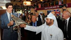Snapshots from the first day of the Katara International Hunting and Falcon Exhibition. PICTURES: Sh