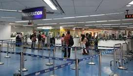 Manila airport immigration