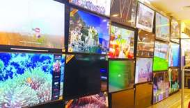 Demand spikes for TV sets during the holiday seasons