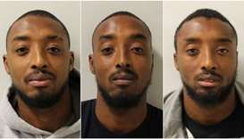 British identical triplets jailed for gun offence