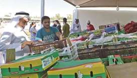 Agricultural yards to sell produce from 125 Qatari farms