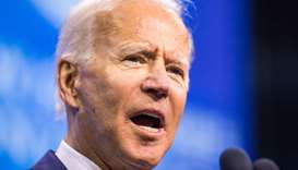 Even as a rival says he is 'declining,' Biden keeps poll lead