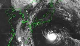 Tokyo braces for direct hit from typhoon Faxai