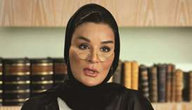 On the first International Day to Protect Education from Attack, Her Highness Sheikha Moza bint Nass