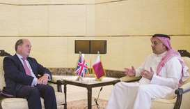 Qatar-UK defence tie reviewed