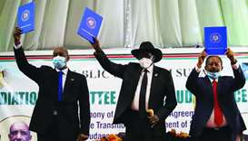 South Sudan president thanks Amir for backing peace deal