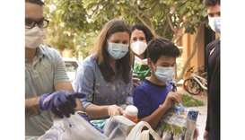 Reaching out to people in need during pandemic