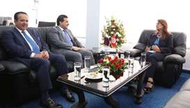 The Minister of Higher Education and Scientific Research receives the Attorney General, Chairman of