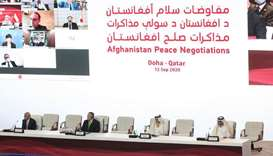 Afghan peace talks begin in Doha