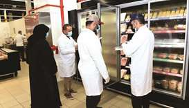 Inspection tours at Al Wakra Municipality