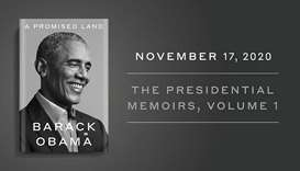 """There's no feeling like finishing a book, and I'm proud of this one,"" Obama tweeted."
