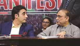 Bilawal Bhutto Zardari and his father Asif Ali Zardari: paid Rs294,117 and Rs2,891,455 in taxes, res