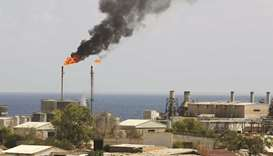 A general view of the oil installation in Zawiya (file). Libya has moved closer to reopening its bat