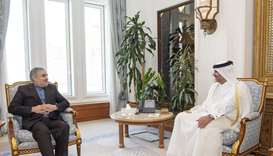 PM meets outgoing Iran ambassador.