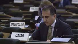 HE Permanent Representative of the State of Qatar to the UN Office in Geneva Ambassador Ali Khalfan