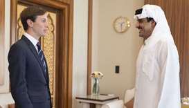 Amir meets Senior Adviser to US President