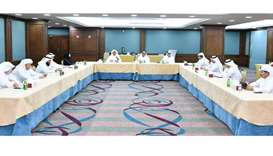 Qatar Chamber chairman Sheikh Khalifa bin Jassim al-Thani recently presided over the meeting of the