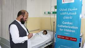 QRCS treats Afghan children with congenital heart defects
