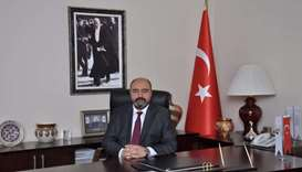 Central Anatolian Furniture, Paper and Forestry Products Exporters' Association chairman A Tahsin At