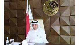 HE Minister of State for Foreign Affairs Sultan bin Saad al-Muraikhi