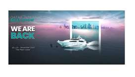 Seventh Qatar International Boat Show from November 16 to 20