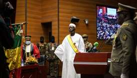 Retired Colonel Bah Ndaw sworn in as Mali interim president