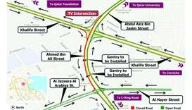Six hour traffic closure on Ahmed Bin Ali Street Saturday night