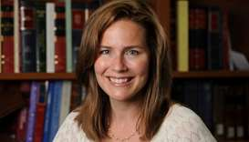 US Court of Appeals for the Seventh Circuit Judge Amy Coney Barrett, a law professor at Notre Dame U