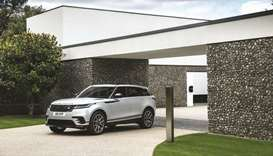The Range Rover Velar.