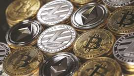 A collection of digital currency. The Florida-based Off The Chain Capital is in talks to purchase ab