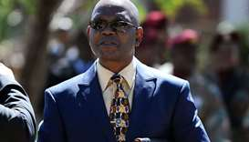 The chief of the South African police crime intelligence unit, Richard Mdluli, in Pretoria. File pic