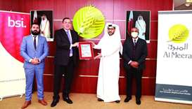 Al Meera awarded food safety management system certification