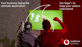 Vodafone Qatar offers premium GigaTV service for public viewing