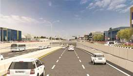 Ashghal starts works to develop Fereej Al Ali Intersection on D-Ring Road