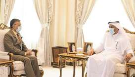 MoI official meets Indian envoy