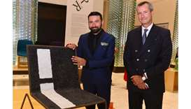 Italian embassy opens travelling exhibition