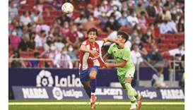 Felix sees red and Griezmann struggles again as Atletico held
