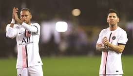 Superstars Lionel Messi (right) and Neymar will be part of the PSG's Qatar Winter Tour.