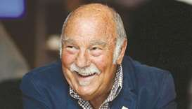 Former footballer Jimmy Greaves at the Royal Mail Football Heroes Stamp Collection Launch at the Wem