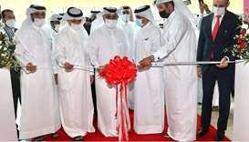 HE the Minister of Commerce and Industry and Acting Minister of Finance Ali bin Ahmed al-Kuwari. ina
